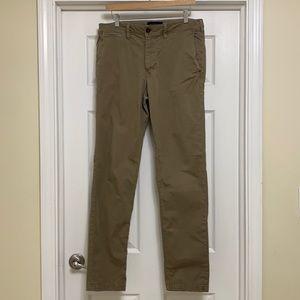 American Eagle khaki men's pants 32 x 34 Brown Tan
